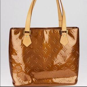 bronze louis Vuitton bag